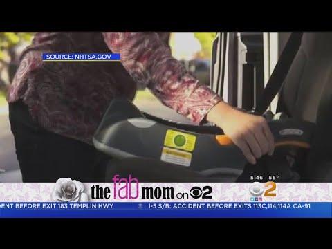 Fab Mom On 2: National Child Passenger Safety Week