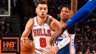 Philadelphia Sixers vs Chicago Bulls 1st Half Highlights | 10.18.2018, NBA Season