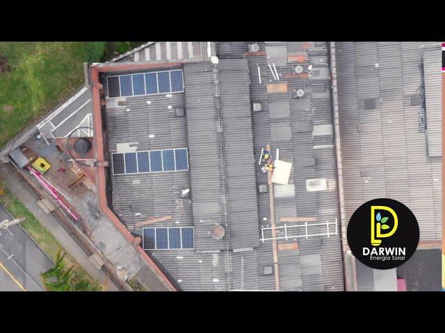 Proyecto de energía Solar empresa Colvac