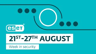 ESET research discovers SideWalk backdoor – Week in security with Tony Anscombe