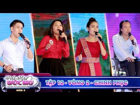 Hát mãi ước mơ 3|TẬP 12 Vòng 2: Trấn Thành vỗ tay liên hồi với màn song ca của Xuân Quang và Thúy Ái