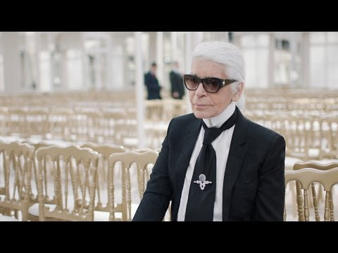 Karl Lagerfeld's Interview - Fall-Winter 2016/17 Ready-to-Wear CHANEL Show