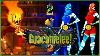 Guacamelee! 2 #2 - Metroidowe posągi i paryskie steki!