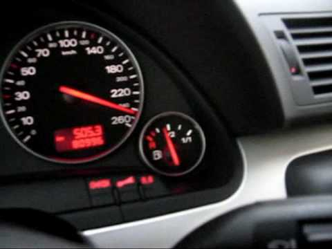 Audi A4 18 Turbo Chiptuned Top Speed Youtube
