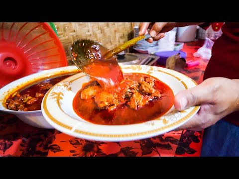 CRAZY SPICY Indonesian Food - Day Trip and Waterfall Adventure in Lombok, Indonesia!