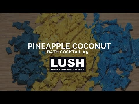 LUSH COSMETICS Bath Cocktail #5: Pineapple Coconut Bath