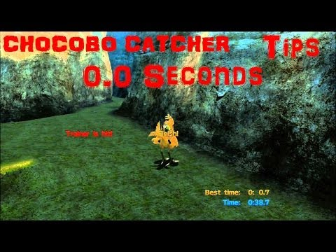 TIPS For 0.0 Seconds - Chocobo Catcher - Chocobo Rider Trophy - Final Fantasy 10/X HD