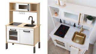 IKEA PLAY KITCHEN HACK | IKEA HACK | Amanda Little