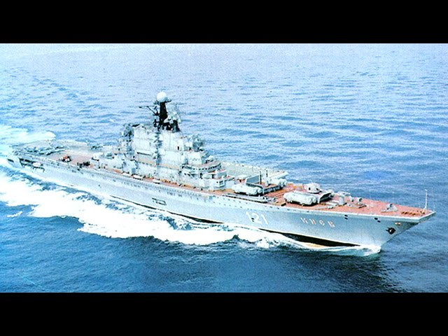 Aircraft Carrying Cruiser Kiev - MADE in the USSR