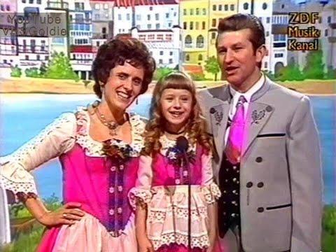 Heidi Ott mit Mama und Papa - Wir freu'n uns auf den Sonntag - 1974