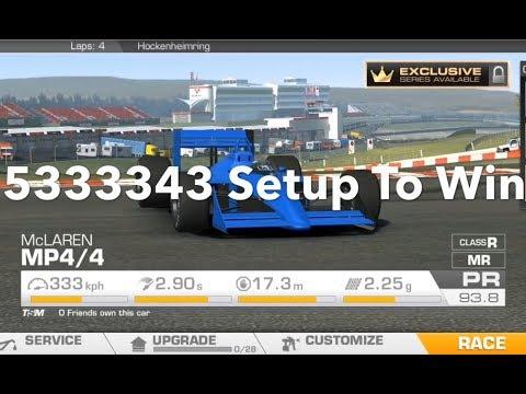Real Racing 3 McLaren MP4/4: Championship Winning Costs, Upgrade Tree