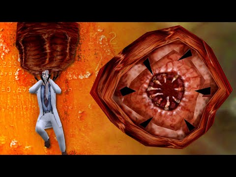 Half-Life series - Barnacle Eating Behavior Overview
