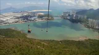 Ngong ping 360 Hong Kong ropeway cable car ride