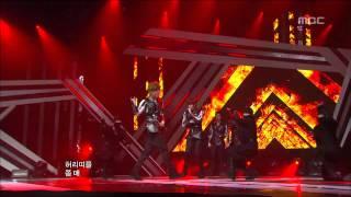 MBLAQ - Run, 엠블랙 - 런, Music Core 20120324
