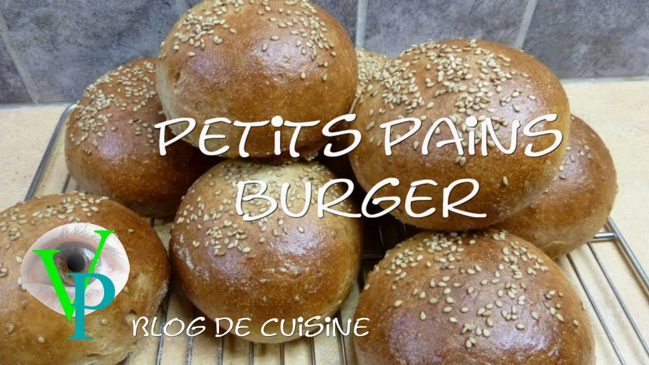 La réalisation des petits pains burger.