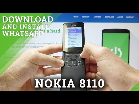 How To Download And Install WhatsApp In NOKIA 8110