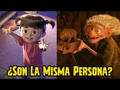 Teoría Conspirativa: ¿Boo De Monster INC Es La Bruja De Valiente ( Brave )?   Pixar