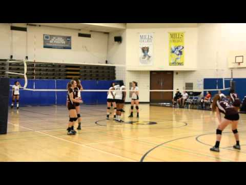 Holy Names High School - Volleyball 2015 vs Contra Costa Christian