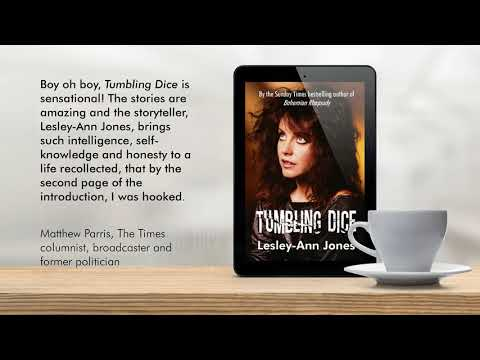 Tumbling Dice Video Author Lesley Ann Jones
