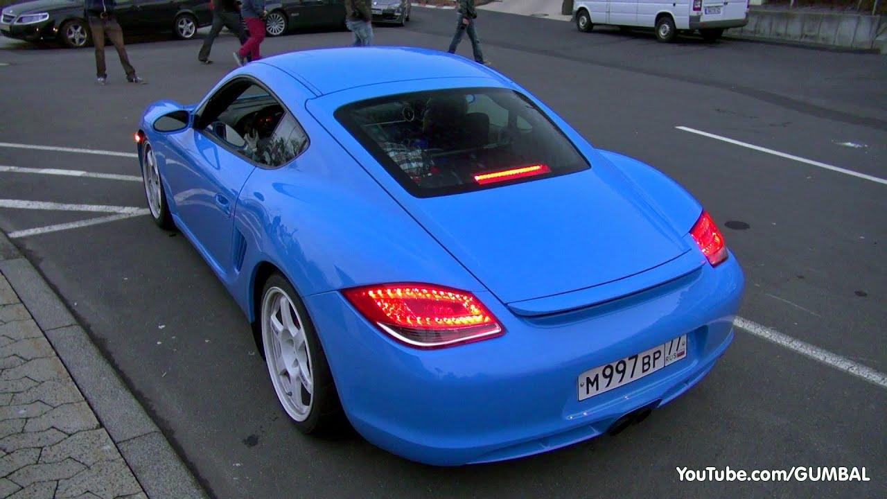 Porsche Cayman S w/ Milltek Sport Exhaust System! - YouTube