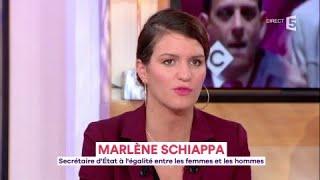 Marlène Schiappa, la ministre qui veut libérer les femmes - C à Vous - 17/10/2017