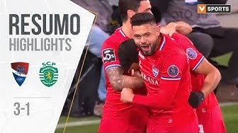 Highlights | Resumo: Gil Vicente 3-1 Sporting (Liga 19/20 #12)