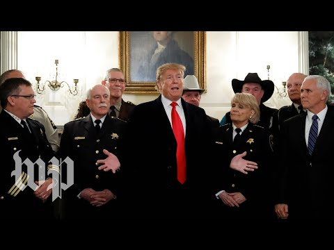 Trump makes remarks after meeting on border security Mp3