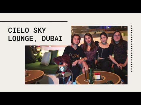 CIELO SKY LOUNGE AT DUBAI CREEK YACHT CLUB | Dubai City Lights
