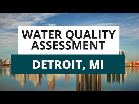 Detroit Water Quality Assessment: What You Need To Know