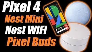 Google's Hardware Event in 15 Minutes - New Nest Mini, WiFi, Pixel 4 and More!