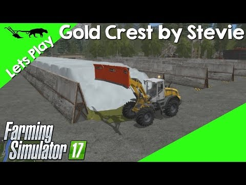 Let's Play Farming Simulator 17 Gold Crest By Stevie Episode 35