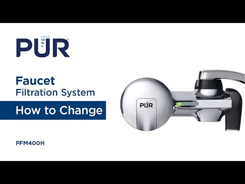 How to Change your PUR Water Faucet Filtration System