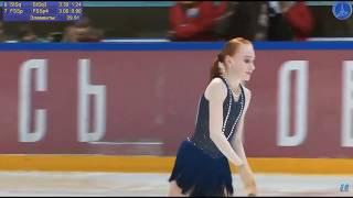 Елизавета Осокина Финал Кубка России 2020 Короткая программа