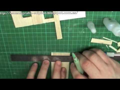 Como hacer casas del oeste banco 1 parte how to houses - Casas de marqueteria ...