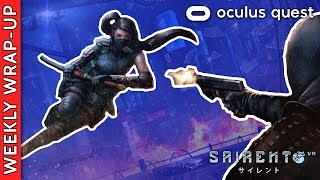 Sairento Untethered Updates And Gunclub VR Coming To The Oculus
