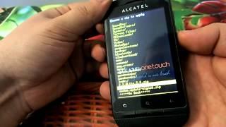 Прошивка Alcatel one touch 918 D ( место под приложения 213 мб!)