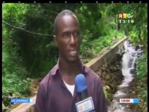 Guinéé: il construit un micro- barrage grâce à son smartphone