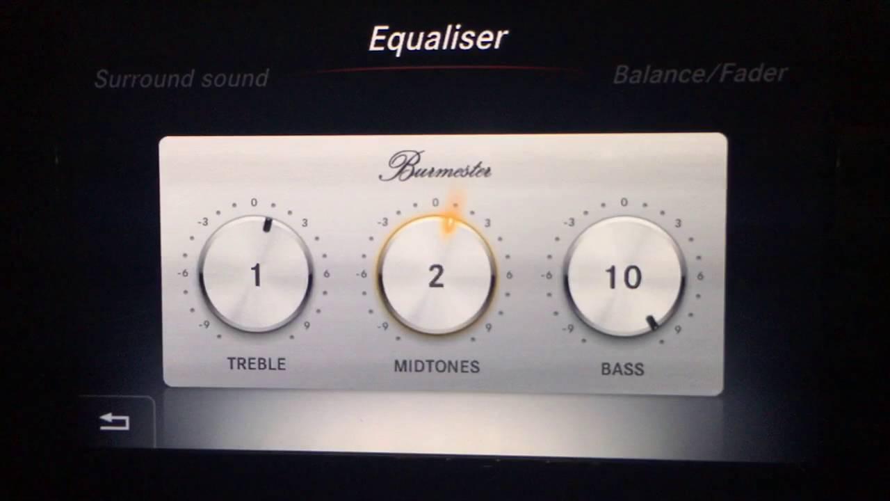 Mercedes Benz X253 Glc 250 4matic Burmester Surround Sound