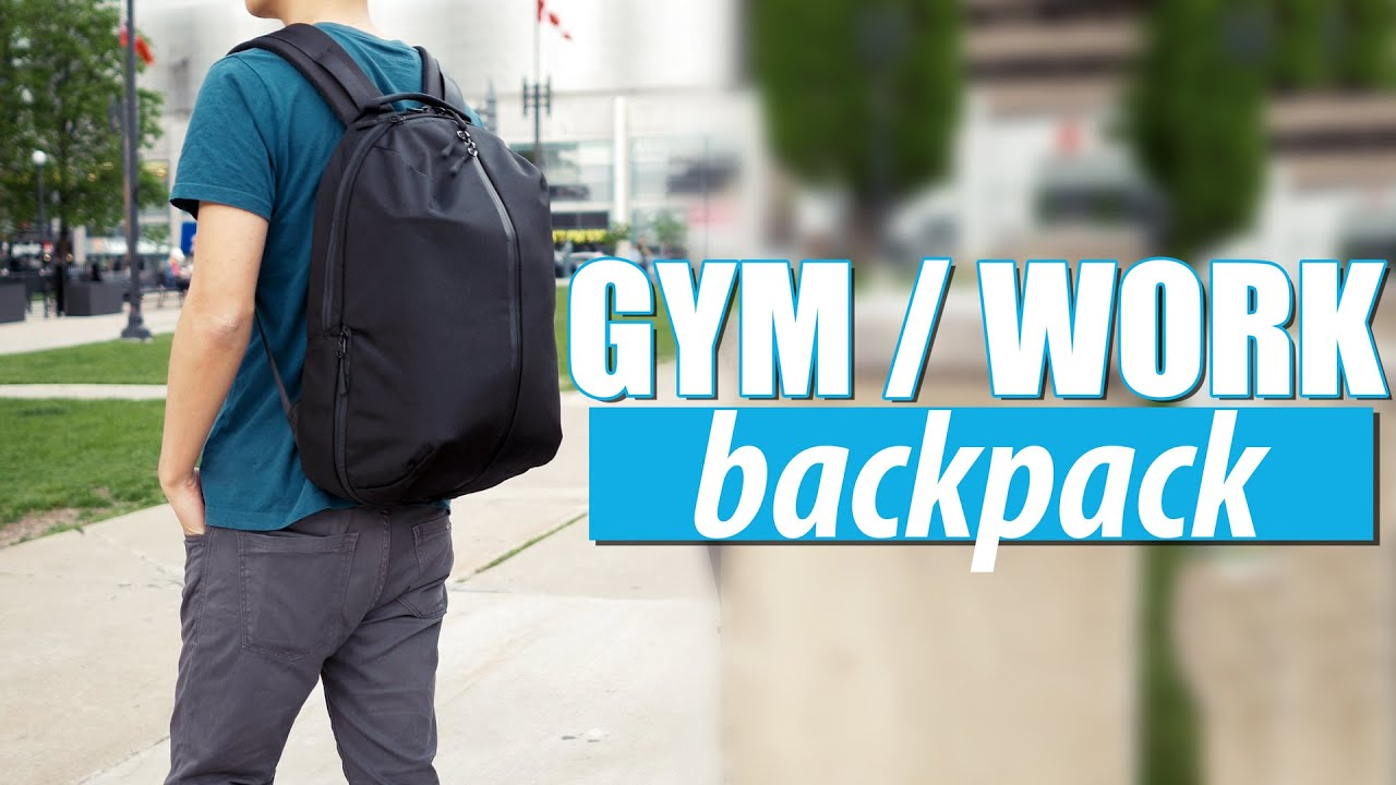 6a3b5887c9f0 AER FIT PACK - The Ultimate Work   Gym Bag - Backpack Review - YouTube