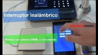 Interruptor inalambrico. Control desde APP móvil y mediante mando a distancia