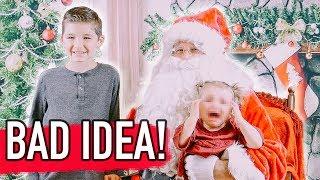 Meeting Santa Claus GONE WRONG! (Caught on Camera)