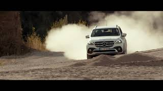 Mercedes Benz X Class l Commercial The Right Amount of Drive for Every Terrain 4K