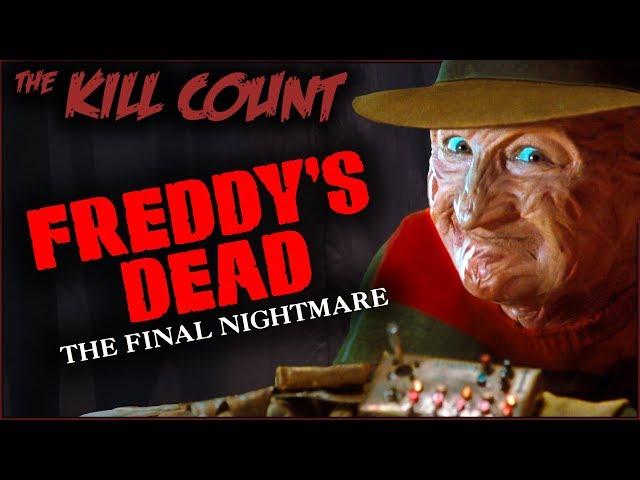 Freddy's Dead: The Final Nightmare (1991) KILL COUNT