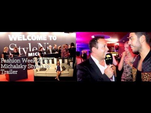 Long Trailer - Michalsky StyleNite & Fashion Week Spring /Summer 2013 - Artist TV (www.ArtistTV.de)