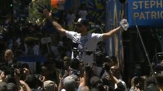 Golden State Warriors - Championship Parade Pt.5 / June 12, 2018