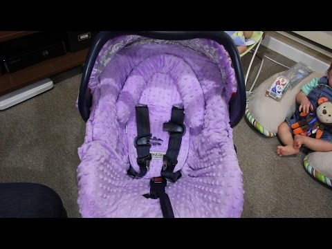 How To Put On A Car Seat Cover Set - Doll Break Ep. 432