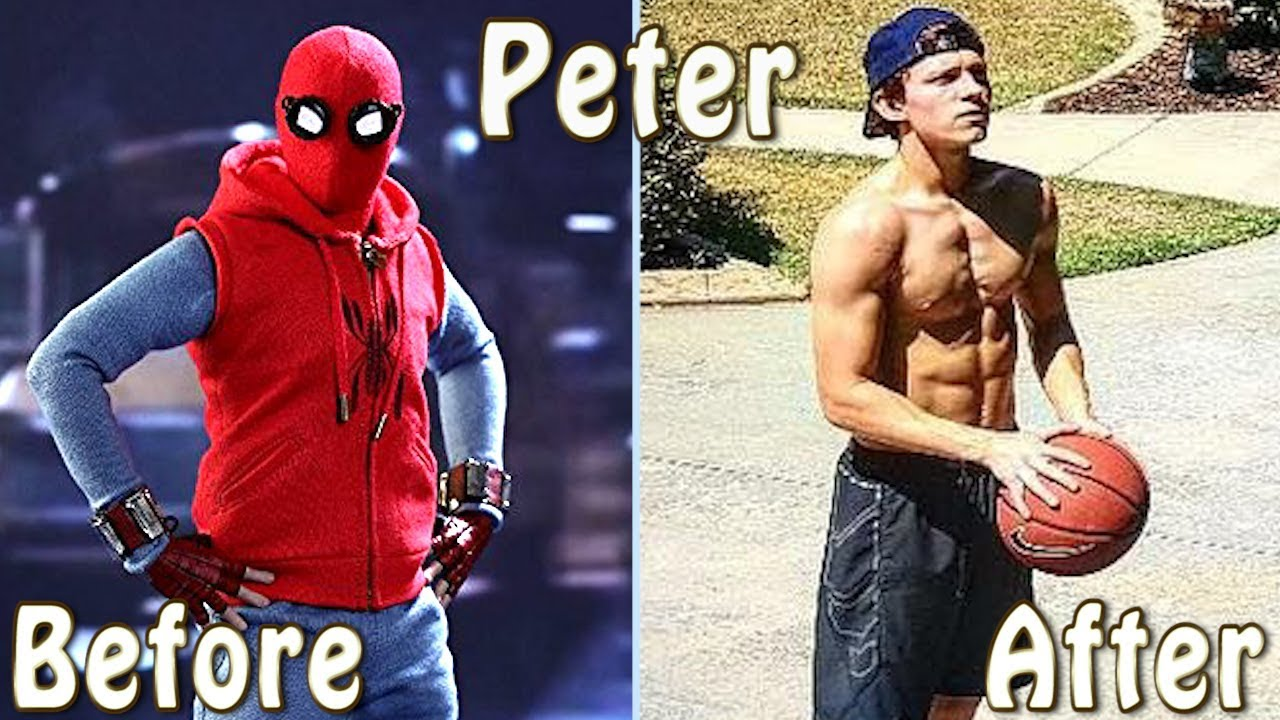 Spider Man Homecoming Cast Before And After