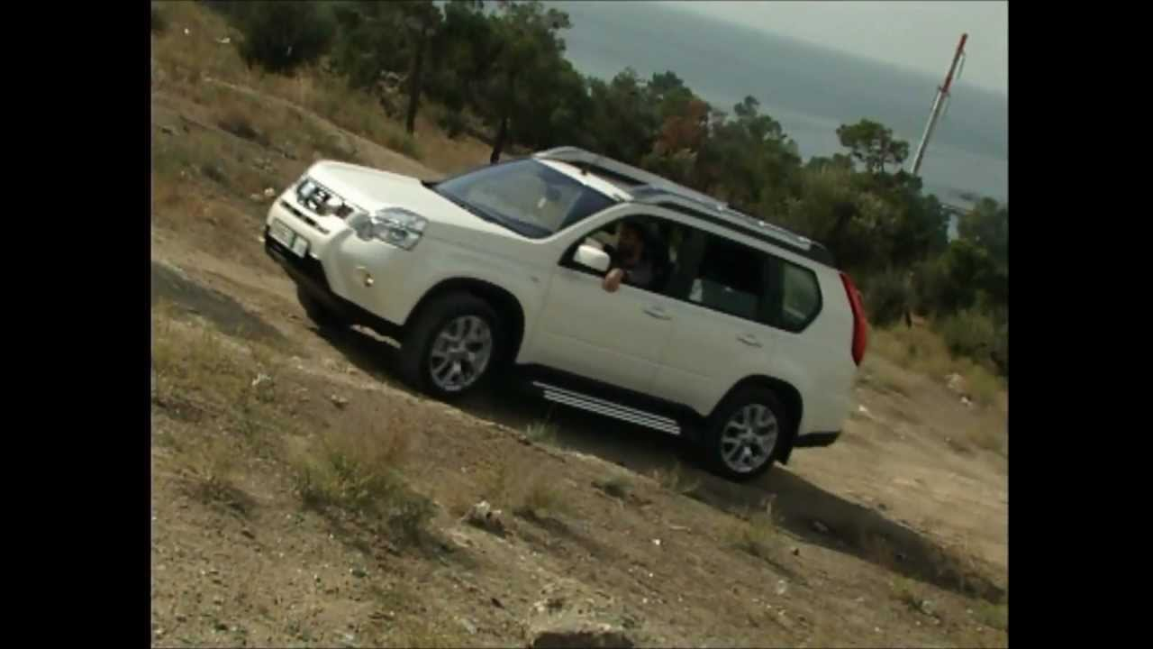 2011 nissan x trail off road youtube. Black Bedroom Furniture Sets. Home Design Ideas