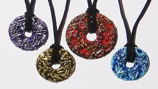 Altered Washer Pendants