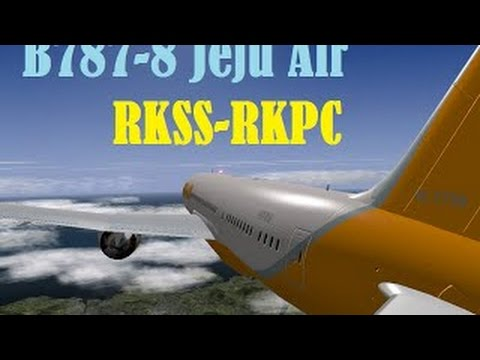 X-Plane 10 Full Flight RKSS to RKPC on VATSIM